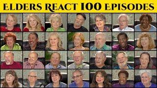 ELDERS REACT TO 100 EPISODES OF ELDERS REACT