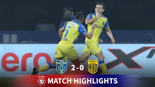 Highlights - Kerala Blasters 2-0 Hyderabad FC - Match 40 | Hero ISL 2020-21