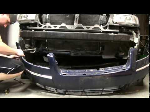 Front Bumper Replacement 2003 VW Passat ( Detailed )