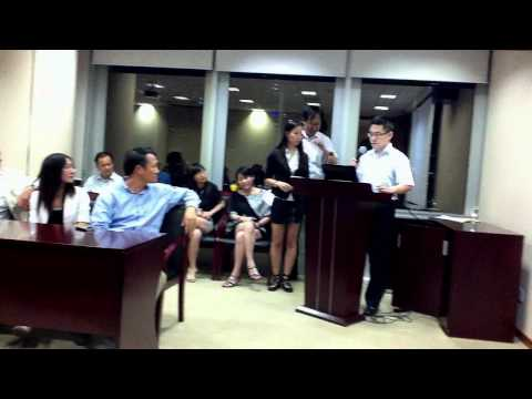 Shanghai Business & Investment Event ,Aug. 24 - Project Presentation