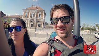 Ep. 51 LONG, HOT, and SMELLY Cluj Napoca, Romania Transylvania Travel Guide Subscribe N ...