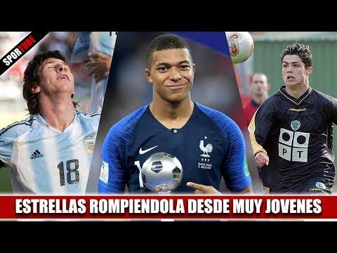 7 Futbolistas que LA ROMPIERON desde MUY JOVENES