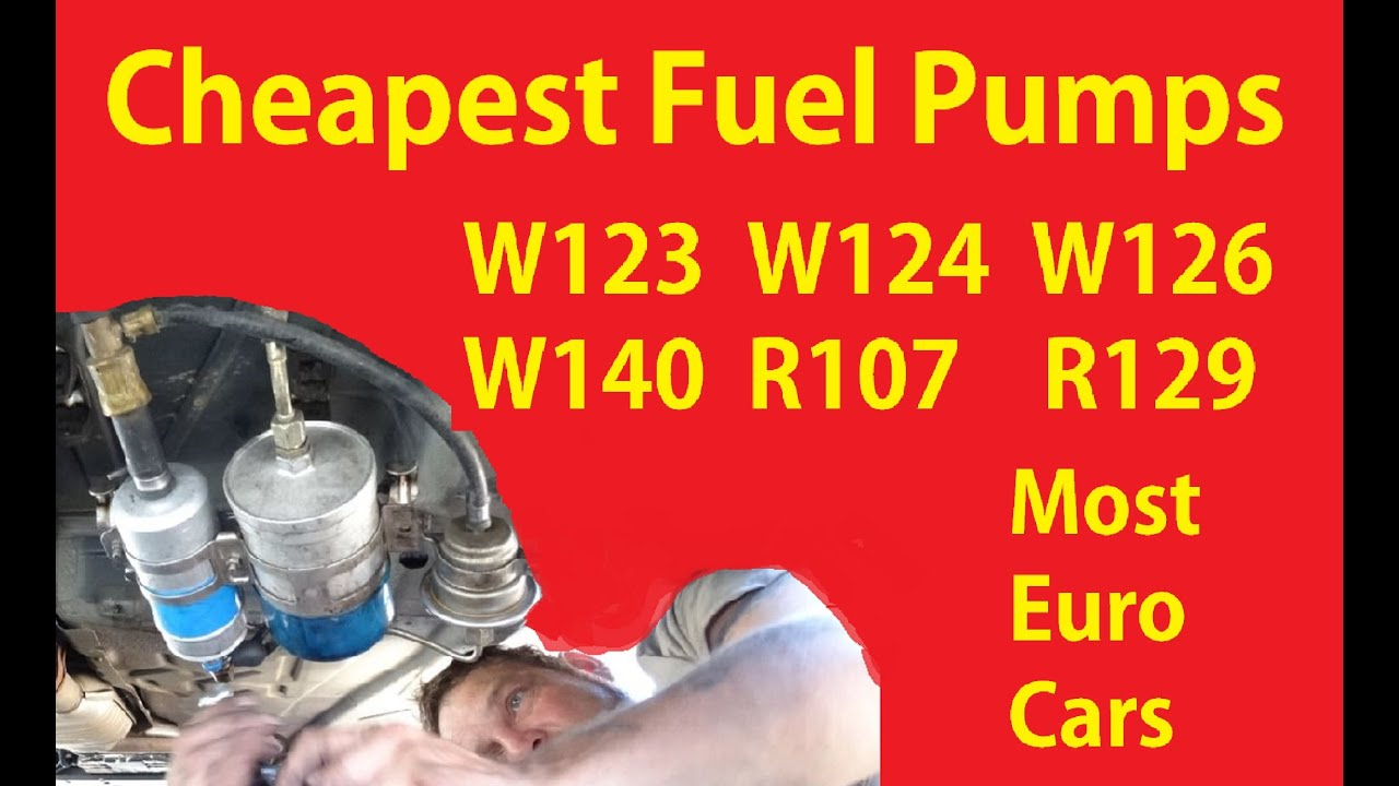 Fixing Bad Fuel Pump How To Buy Aftermarket Replacement Parts Cheap #1