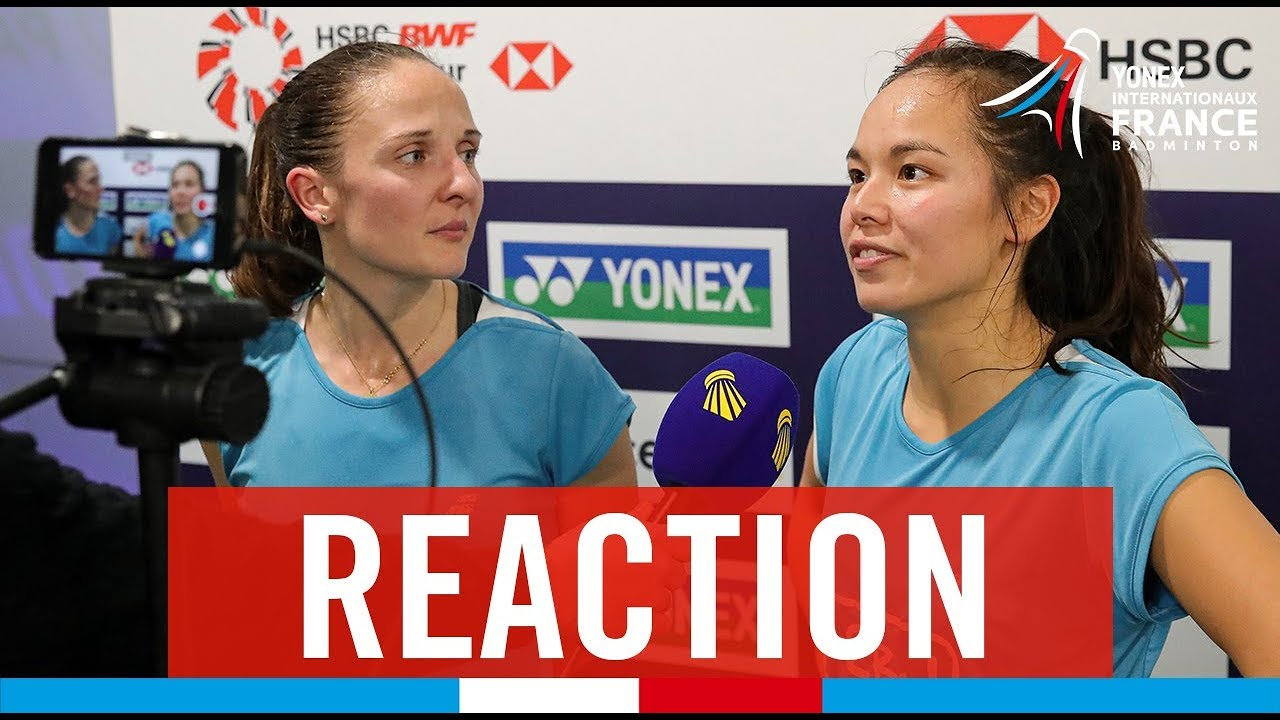 French Open Wd Round 2 Anne Tran Et Emilie Lefel Youtube
