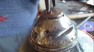 WW1 German DOPP Zc/91 artillery shell fuse breakdown