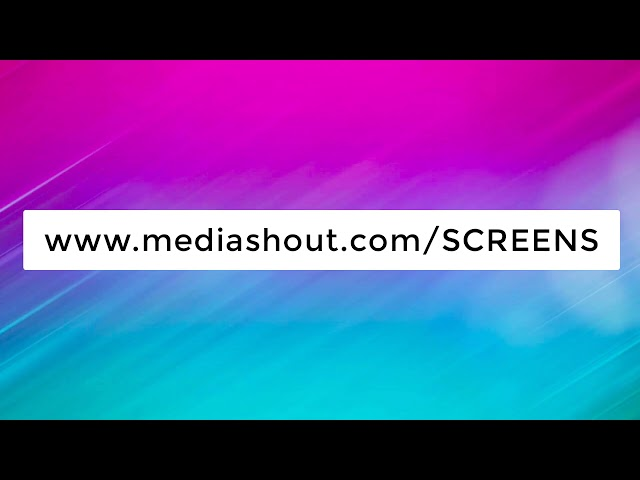 MediaShout 7 - Screen Setup