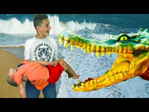 BAD KIDS & BAD Crocodile Johny Johny Yes Papa Song Nursery Rhymes & Learn Colors for Children