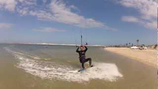 kiteboarding kitesurfing at huguenot park jacksonville florida