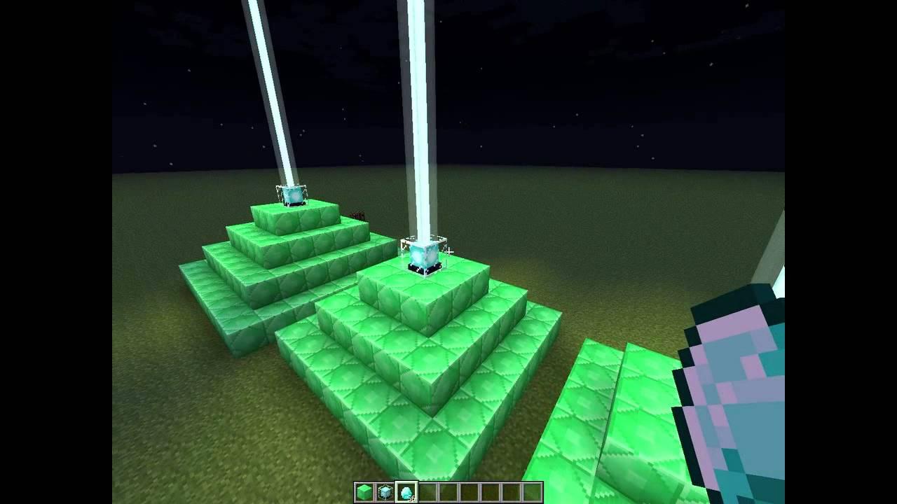 как сделать маяк в майнкрафте #4