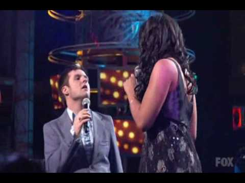 American Idol - Blake Lewis And Jordin Sparks- I Saw Her Standing There
