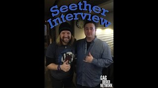 Seether Interview (John Humphrey, the drummer, talks about brands, bands and his family)