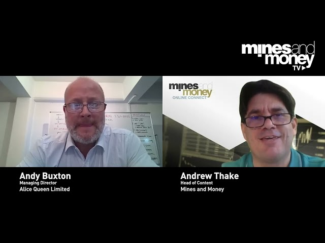 Mines and Money TV -  Andy Buxton, Managing Director of Alice Queen (ASX: AQX)