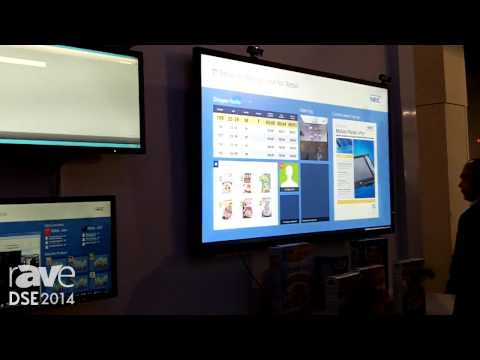 DSE 2014: NEC Talks About Its NEC Display Solutions Wall With Analytics Platform