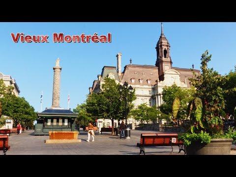 Old Montreal (Vieux Montréal) Notre-Dame Old Port Quebec