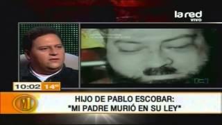 Repeat youtube video Hijo de Pablo Escobar: