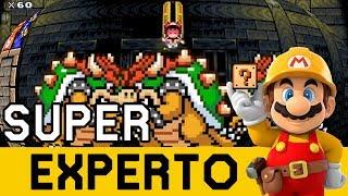 Ya NO se PUEDE Confiar en los Japoneses 😱 - SUPER EXPERTO NO SKIP | Mario Maker - ZetaSSJ