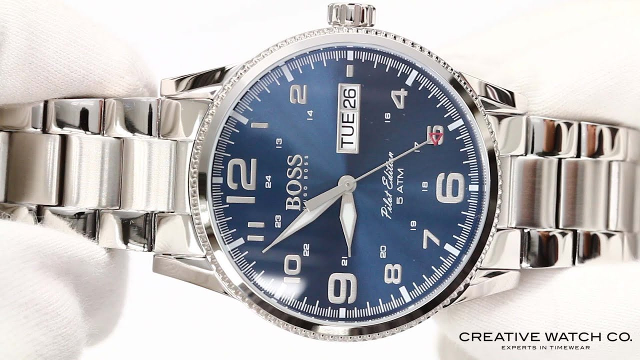 70ef7850b Hands On With The Men's Hugo Boss Watch 1513329 - YouTube