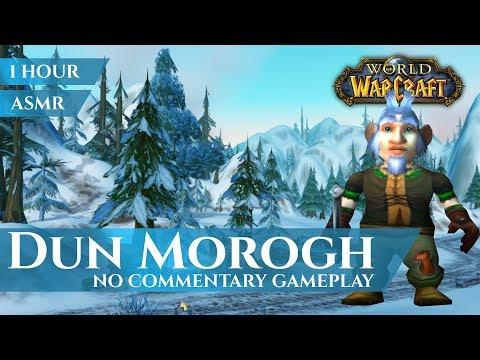 Dun Morogh - Alliance Gameplay, No Commentary (1 hour, 4K, World of Warcraft Vanilla)