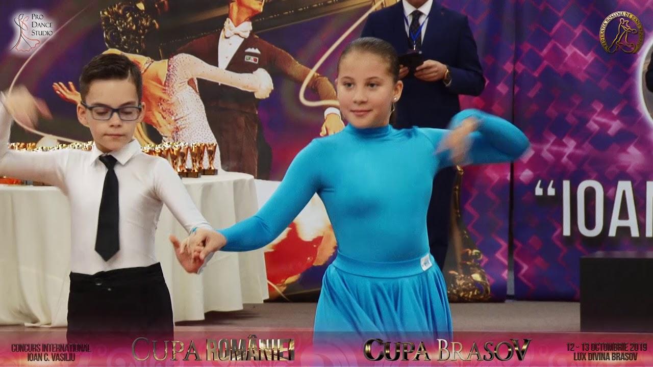 Cupa Brasov si Cupa Romaniei la dans sportiv - 12 Octombrie 2019 - Partea 1