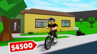 I BOUGHT THE FIRST BICYCLE IN ROBLOXA! -Roblox Adventure #3