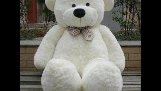 (Aliexpress).Плюшевый медведь 200см!!!!!!! Распаковка и обзор