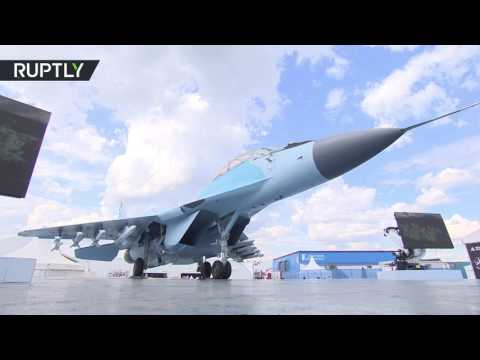 'Future belongs to this plane': New-design MiG-35 makes air show debut at MAKS 2017