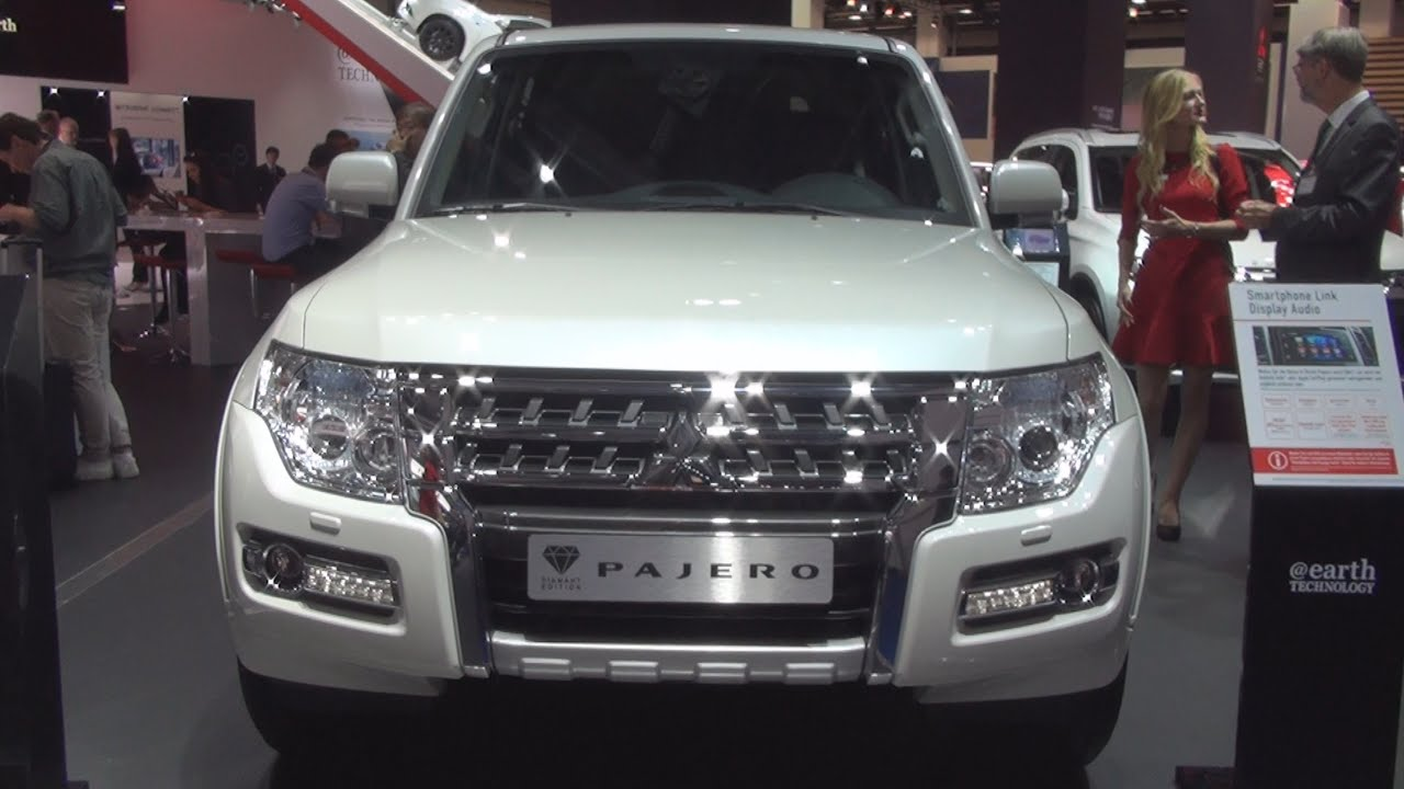 mitsubishi pajero 32 di d top at diamond edition 2016 exterior and interior in 3d - Mitsubishi Montero 2016 Interior