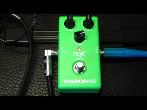 Nux OD-3 sound demo