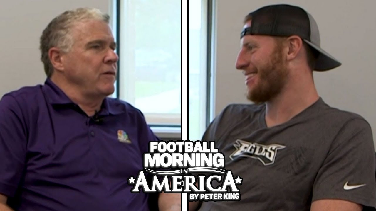 Carson Wentz's FULL INTERVIEW with Peter King at Eagles Training Camp | NBC Sports