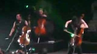 Apocalyptica en el auditorio nacional 8 5/02/08
