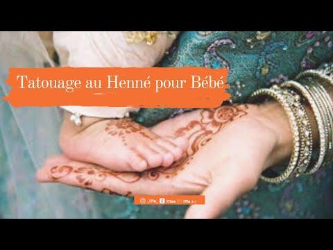 Tatouage Au Henne Pour Bebe Henna Tattoo Baby نقش بالحناء للصغار