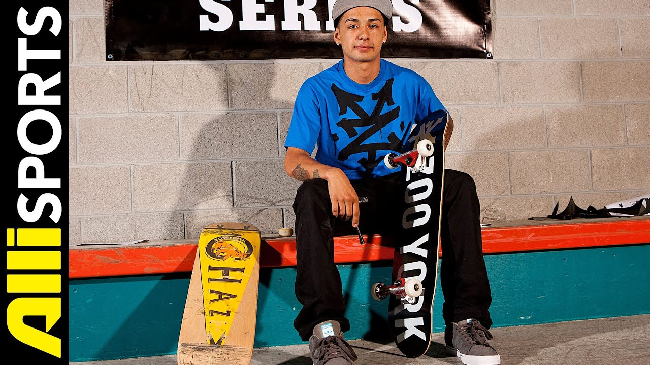 Nyjah Huston Skateboard Setup