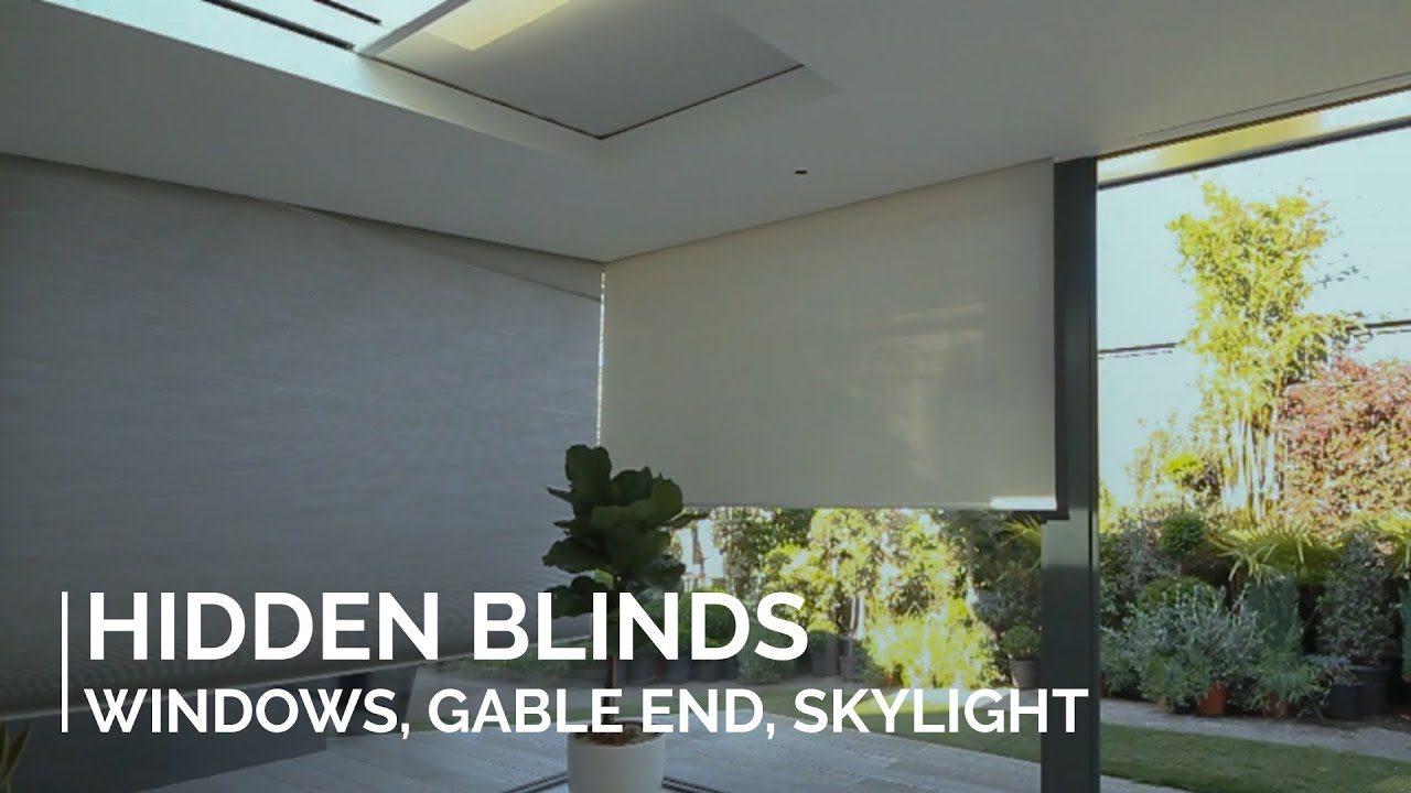 Concealed Blinds In Windows Gables And Skylights