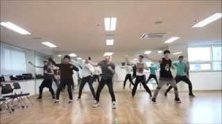 Evo Nine Superman Mirrored Dance Practice