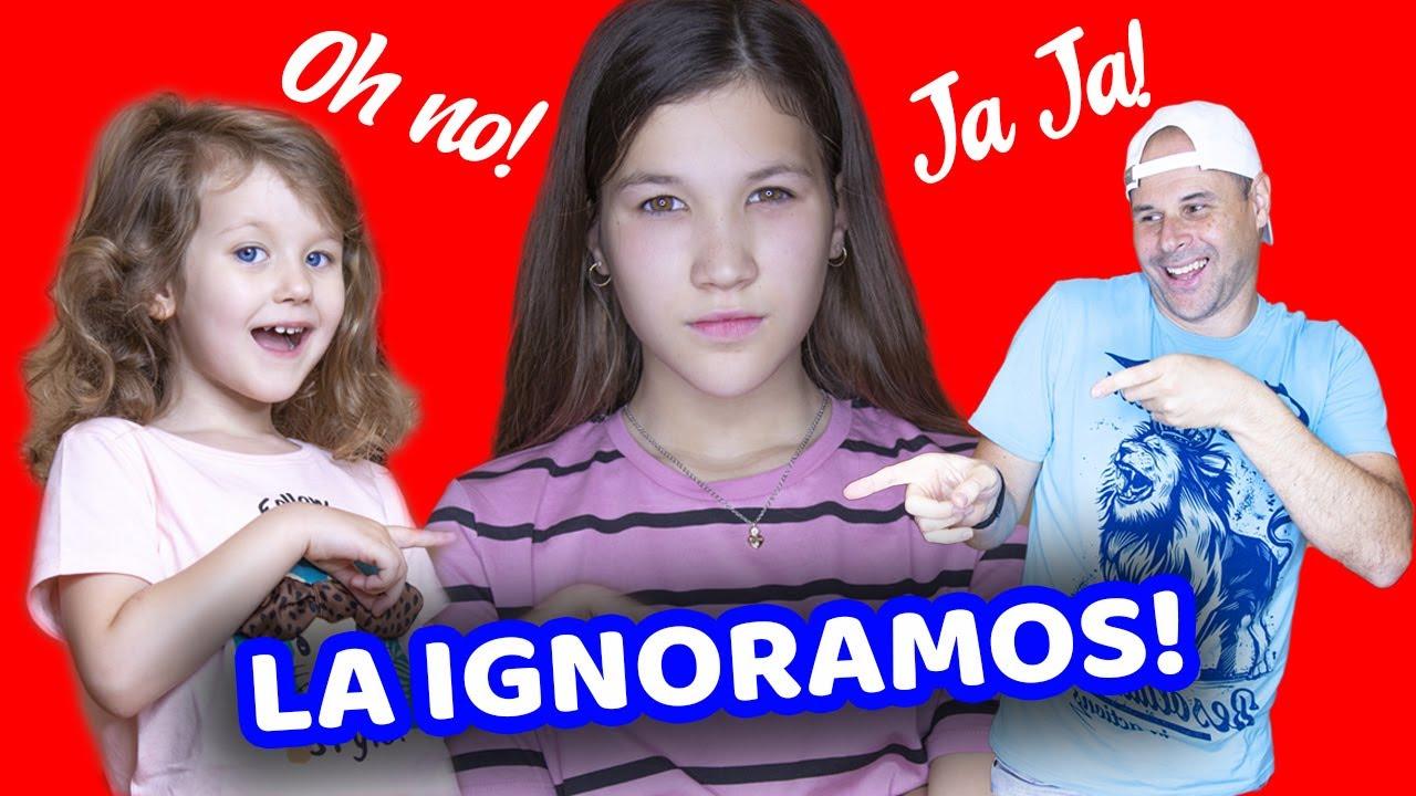 24 HORAS IGNORANDO A DANIELA GOLUBEVA | LA VENGANZA DE ERIKA! | Yippee Family