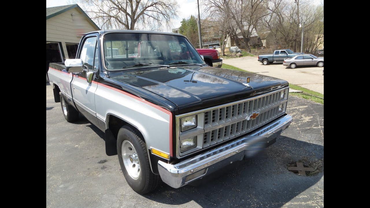 Chevy K20 For Sale >> 1982 Chevy Pickup tour - YouTube