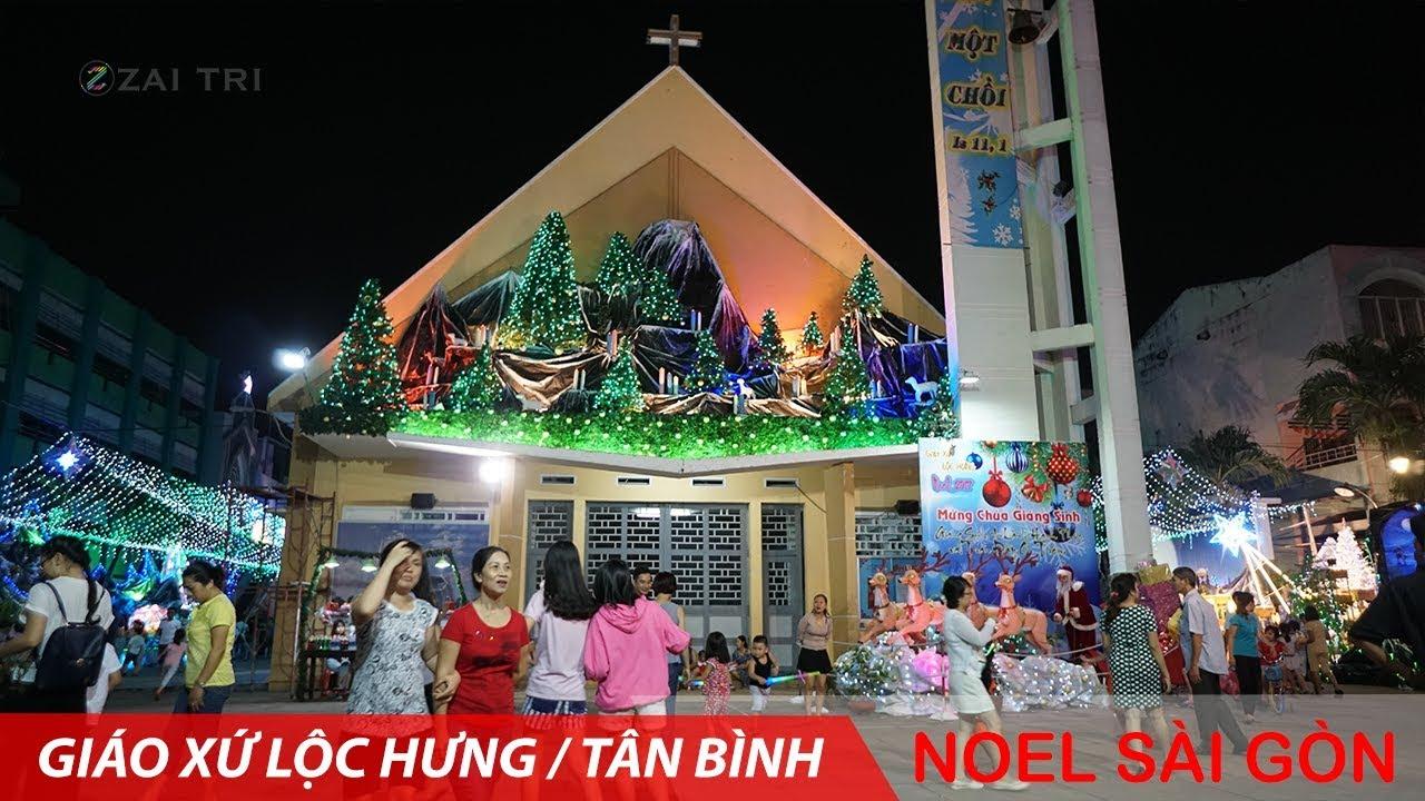 noel 2018 giao xu kito vua NOEL 2017 trang trí giáng sinh ở giáo xứ Lộc Hưng   Sài Gòn mừng  noel 2018 giao xu kito vua