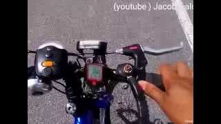 cycling  30 kmph in Trinidad