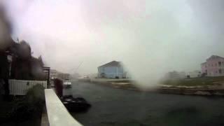 Hurricane Irene 2011, Bahamas, 8.15am - GoPro HD