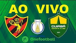 Sport Recife X Cuiabá Ao Vivo - Brasileirão Série B 2019 - Rodada 29