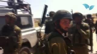 מחלקת הביטחון קריית ארבע וגדוד 932 בסריקות אחר הנעדרים בכפר בית כחיל 13.6.14