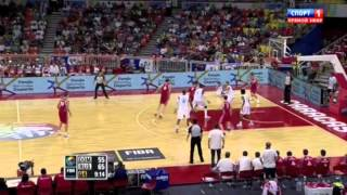 Preolympics basketball 2012. Russia - Dominikana mix (HD)