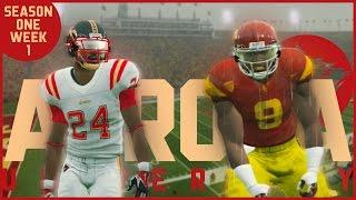 NCAA Football 14   Aurora Dynasty - Week 1 @ #20 USC