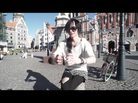 SANA Sama- interview in Riga (ENG/ LAT subtitles)