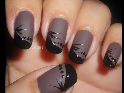 nail art matte jacques decoracion de u as re upload. Black Bedroom Furniture Sets. Home Design Ideas