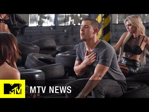 Nick Jonas Takes Us Behind the Scenes of His 'Levels' Video | MTV News