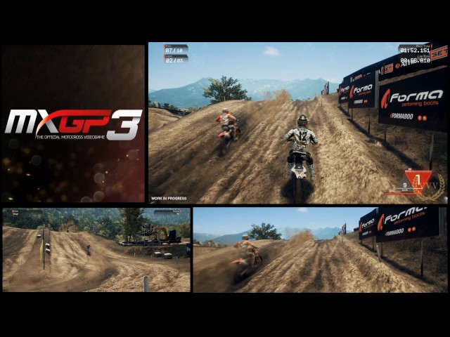 MXGP3 Multicam Gameplay No comment run