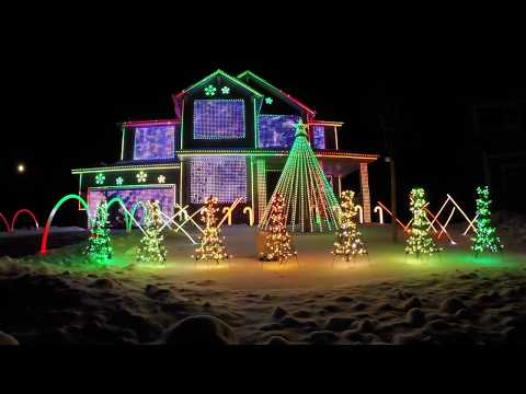 Trista Lights 2016 Christmas Light Show - Featured on ABC's The Great Christmas Light Fight