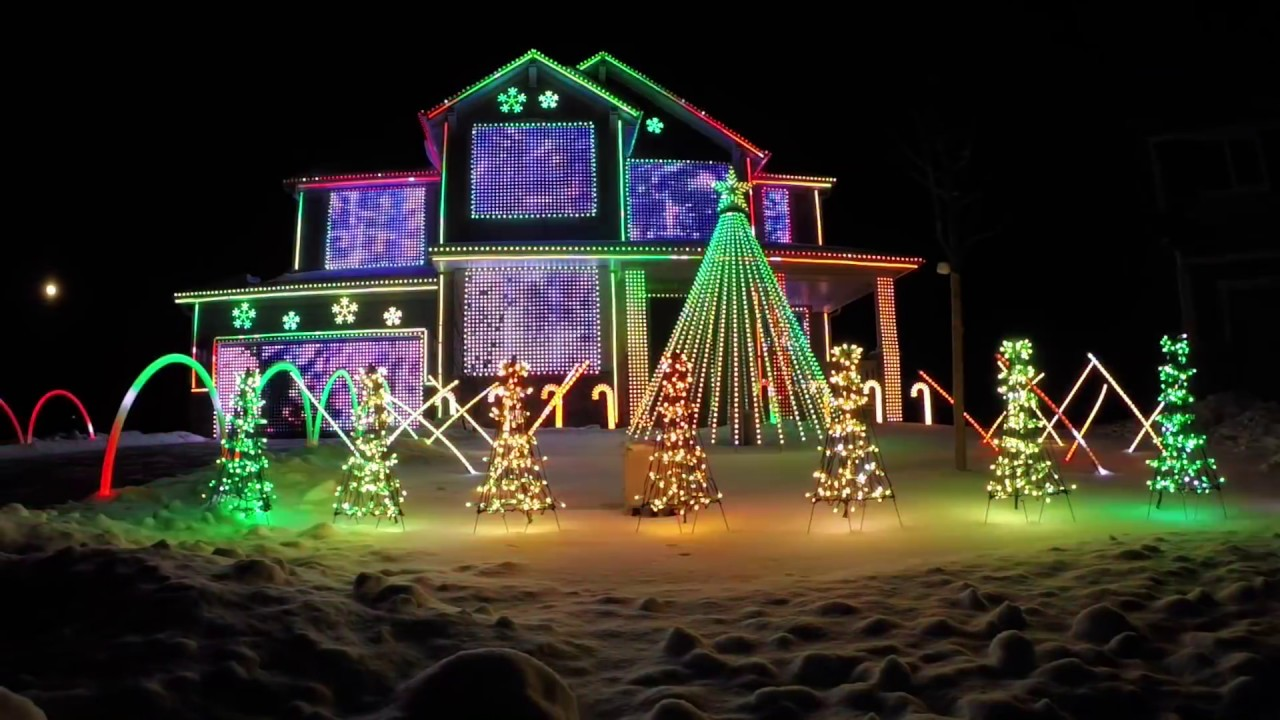 trista lights 2016 christmas light show featured on abcs the great christmas light fight
