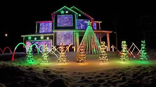 Trista Lights 2016 Christmas Light Show - Featured on ABC